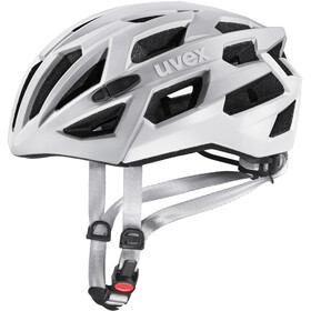 UVEX Race 7 Casque, silver mat white